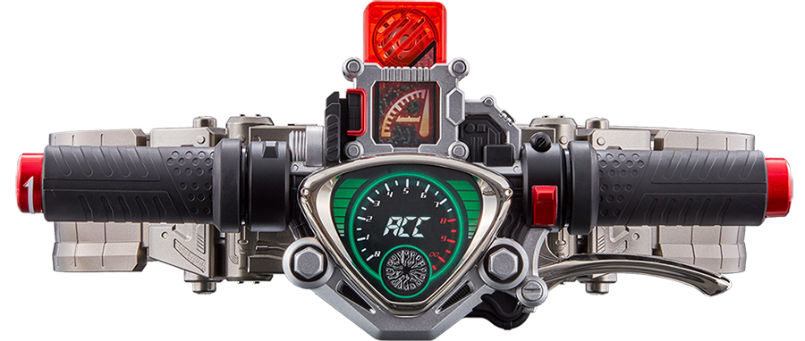 By loading ACCEL MEMORY into ACCELDRIVER and turning the grip, you can HENSHIN into KAMEN RIDER ACCEL. Furthermore, by using the ENGINE MEMORY, the Final Attack sound is played.