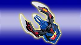 ウルトラマンジードの武器アイテム「DXジードクロー」が登場!